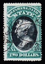 US O68 $2 State Department Used Fine appr w/ PSAG Cert SCV $3000