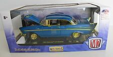 1:24 M2 Machines Auto-Thentics 1957 Chevy Bel Air 210 CHASE R54, 1 of only 500