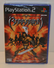 PS2 Barbarian (2003) UK Pal, Brand New & Sony Factory Sealed Playstation Rare