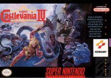 Super Castlevania 4 SNES Great Condition Fast Shipping