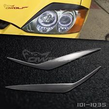 Carbon Fiber Headlight Cover Eyebrow Eyelid for Hyundai Tiburon Coupe B# 03-2006