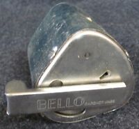 Vintage BELLO Hollow Grinder Razor Blade Sharpener with Directions Strop (AB491)