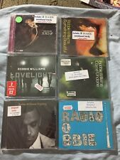 Robbie Williams 6 CD singles Radio, Lovelight, Tripping, Sexed Up, Come Undone +
