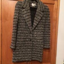 Isabel Marant Etoile SZ M/8/FR40 IFEA Grey & Black Bouclé Jacket Coat Sweater