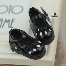 1/6 BJD Shoes Yosd Lolita black Shoes boots Dollfie Luts AOD DIM DOD Dollmore DZ