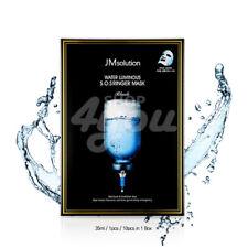 JM Solution Water Luminous S.O.S Ringer Mask Black X 10Pcs +Free Sample