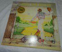 Vintage Elton John Vinyl record Album set, Goodbye Yellow Brick Road, MCA2-6894