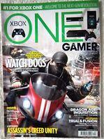 63714 Issue 140 One Gamer Magazine 2014