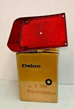 NOS TAIL LAMP LENS 1965 PONTIAC STATION WAGON 5956860 GUIDE 25S SAE STDB 65