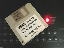 KORG 01WFD 720 K° Floppy Disk w/ General midi ORCHESTRAL Sounds 200 sounds RARE