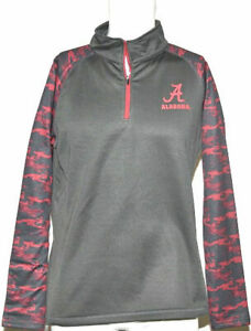 Colosseum Youth Alabama 1/4 Zip Sweater in Oil Slick - XL