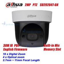 Dahua SD29204T-GN POE 2MP Full HD Built-in Mic Network Mini IR PTZ Dome Camera
