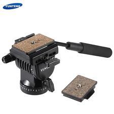 YUNTENG YT-950 DSLR Camera Video Fluid Drag Tilt Pan Head for Nikon Canon P9I8