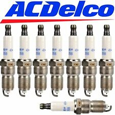 8 GENUINE 41-962 ACDelco OEM# 19299585 Set Of 8 Platinum Spark Plugs