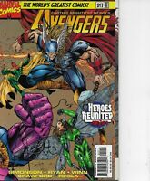 THE AVENGERS #12 SHADOWS END!! MARVEL COMICS 1997 BAGGED & BOARDED