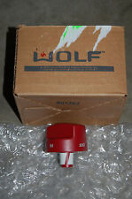 Wolf 818770 Red Oven Knob New in Box!