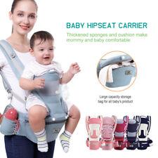 0-48M Adjustable Ergonomic Baby Carrier Infant Hipseat Wrap Sling Backpack
