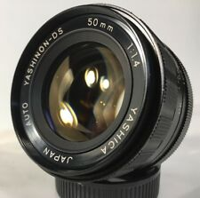 YASHICA YASHINON-DS 50mm f/1.4 M42 Mount MF Lens from Japan (C873)