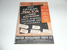 Tractor Replacement Parts Co. 1952 Catalog of Tractor and Farm Machinery Parts