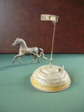1$ Auction Rare 1910's Gunthermann Günthermann Tin Wind-up Horse Carousel
