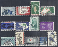 US 1963 Commemorative Year Set of 13 w/ 1180 Civil War, 1230-1241 - MNH*