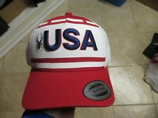 SPYDER (USA) TRUCKERS SNAPBACK  HAT $40 RED, BLUE & WHITE MESH BACK AWESOME HAT!