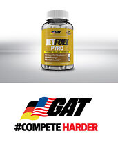 GAT JetFUEL Pyro 120 Oil-Infused Caps Ultimate Feel Good Fat-Burner Free Ship