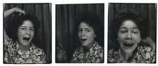Photo 3 poses identité photomaton / Jocelyne pète les plombs à Orly 1960