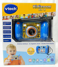 Kidizoom Kid 2 Vtech Kamera Spiele Farbdisplay 2 Megapixel 7 in 1 Blau Neu