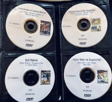 Giant Serial Collection All 47 Science Fiction Movie Cliffhangers on DVD