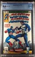 Captain America #241 1993 CBCS Graded 9.6 WHITE PAGES JC Penny reprint