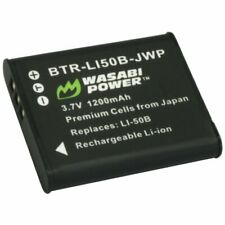 Wasabi Power Battery for Ricoh DB-100 and Ricoh CX3, CX4, CX5, CX6, PX