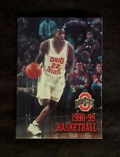 1998-99 Ohio State Buckeyes Basketball Schedule - Michael Redd