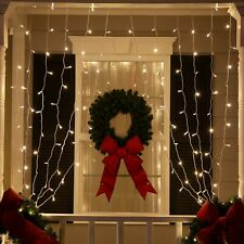 LED Curtain Lights Warm Cool White Cozy Wedding Home Party Room String Lights