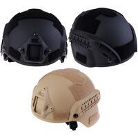 Outdoor Fast Tactical Helmet Military Tactical Combat RidingHunt WF