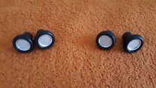 2 Paar Knopfe für Oldtimer  BMW  Autoradio