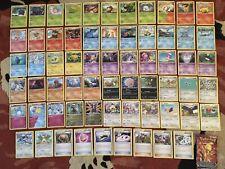Pokémon Steam Siege XY Base Set Bundle X 64 TCG Cards! Rares, Job Lot, All N/M