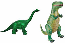 Jet Creations T-Rex Combo! Inflatable T-Rex and Inflatable Brachiosaurus Di-Tyr3