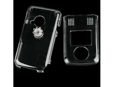 Durable Plastic Protective Phone Cover Clear For Sanyo M1
