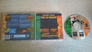 JUNGLE STRIKE & DESERT STRIKE : RETURN TO THE GULF - 1995 PC GAME - JC EDITION