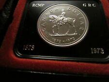Kanada 1 Dollar Silber 1973 PP 100 Jahre Berittene Nordwestpolizei  Art. 002-007