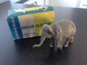 Britains set 311 herald models , Indian elephant , in illustrated set box ,