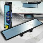 Broadway 300mm Wide Flat Interior Clip On Rear View Blue Tint Mirror Universal 1