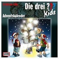 DIE DREI ??? KIDS - ADVENTSKALENDER 2 CD HÖRSPIEL/HÖRBUCH KINDER NEU