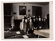 Fine Vintage Photo of Boys in Classroom