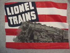 Lionel Trains Company Toy Trains Gray Cotton T Shirt Size L