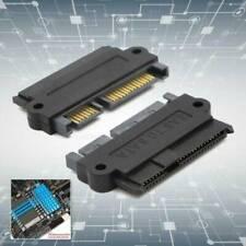 SFF-8482 SAS To SATA 22 Pin Angle 180 DegreeHard Disk Adapter Converter Card