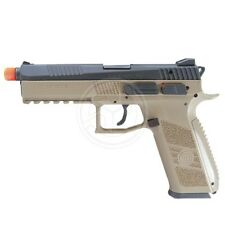 ASG Polymer CZ P-09 CO2 Gas Blowback Lightweight Tactical Airsoft Pistol Tan