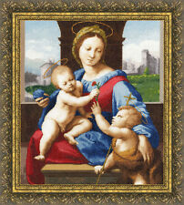 GOLDEN FLEECE COUNTED CROSS STITCH  MADONNA ALDOBRANDINI MUSEUM COLLECTION NEW