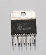 ST TDA2005 20W bridge/stereo amplifier